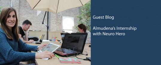 Almudena's work experience
