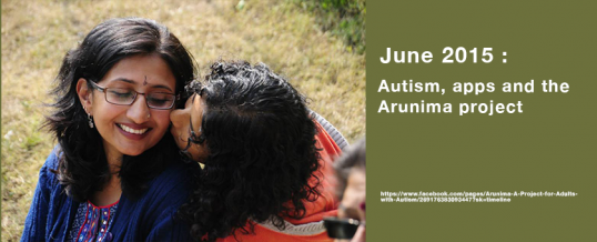 Autism, apps and the Arunima project
